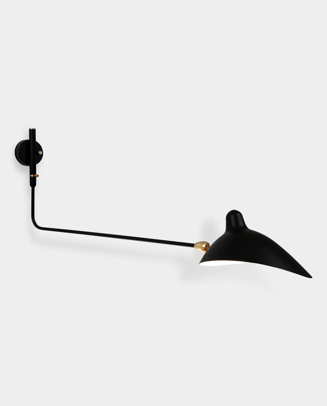 applique 1 bras droit pivotant. Black Bedroom Furniture Sets. Home Design Ideas