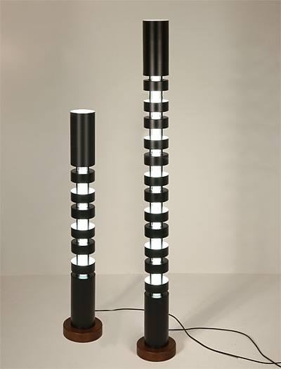 colonne lumineuse petit totem. Black Bedroom Furniture Sets. Home Design Ideas